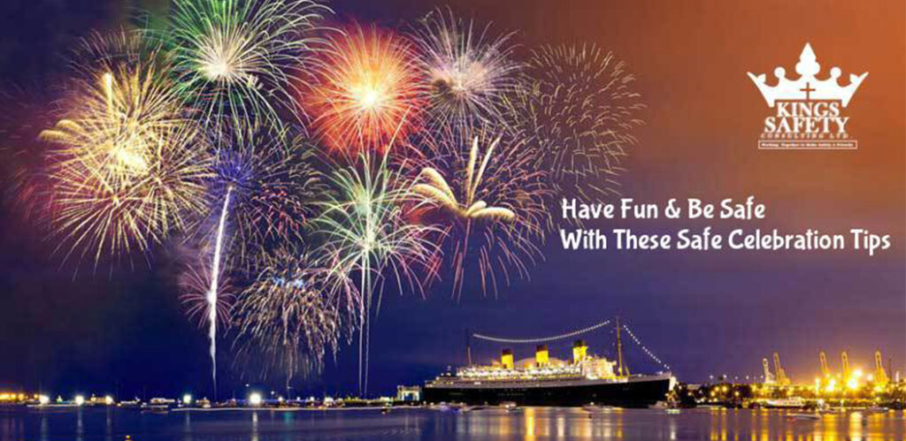 10 tips for Safe Celebrating – At home and out of the town!
