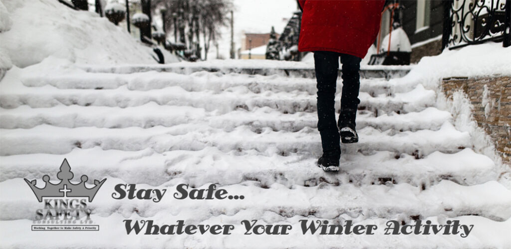WINTER SAFETY SERIES – PART III PREPARING YOUR ENVIRONMENT